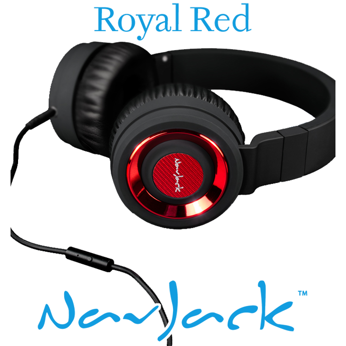 Nav Jack Headset QBM Royale Red